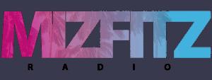 MizFitz Radio Logo Black