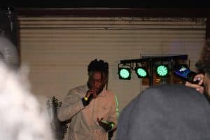 Twane Picaso performing at SauceFest